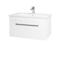 Dreja - Kúpeľňová skriňa ASTON SZZ 80 - M01 Bílá mat / Úchytka T01 / M01 Bílá mat (199319A)