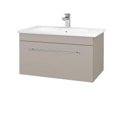 Dreja - Kúpeľňová skriňa ASTON SZZ 80 - N07 Stone / Úchytka T02 / N07 Stone (199432B)