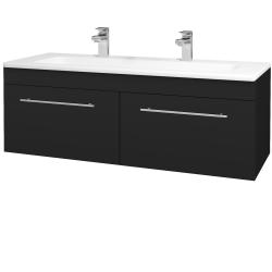 Dreja - Kúpeľňová skriňa ASTON SZZ2 120 - N08 Cosmo / Úchytka T02 / N08 Cosmo (200374BU)