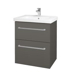 Dreja - Kúpeľňová skriňa BIG INN SZZ2 65 - N06 Lava / Úchytka T03 / N06 Lava (200510C)