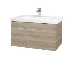 Dreja - Kúpeľňová skriňa BIG INN SZZ 80 - D17 Colorado / Úchytka T04 / D17 Colorado (201227E)