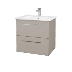 Dreja - Kúpeľňová skriňa GIO SZZ2 60 - N07 Stone / Úchytka T04 / N07 Stone (202125E)