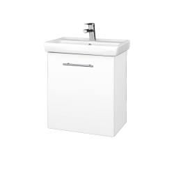 Dreja - Kúpeľňová skriňa DOOR SZD 55 - M01 Bílá mat / Úchytka T02 / M01 Bílá mat / Levé (205126B)