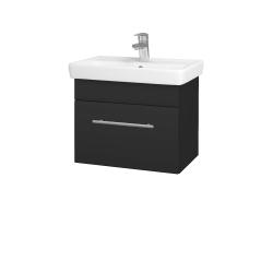 Dreja - Kúpeľňová skriňa SOLO SZZ 55 - N03 Graphite / Úchytka T02 / N03 Graphite (205607B)
