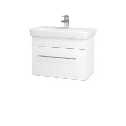 Dreja - Kúpeľňová skriňa SOLO SZZ 60 - M01 Bílá mat / Úchytka T02 / M01 Bílá mat (205683B)