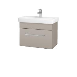 Dreja - Kúpeľňová skriňa SOLO SZZ 60 - N07 Stone / Úchytka T04 / N07 Stone (205836E)