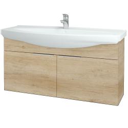 Dreja - Kúpeľňová skriňa TAKE IT SZD2 120 - D15 Nebraska / Úchytka T05 / D15 Nebraska (206499F)