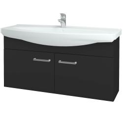 Dreja - Kúpeľňová skriňa TAKE IT SZD2 120 - N03 Graphite / Úchytka T03 / N03 Graphite (206604C)
