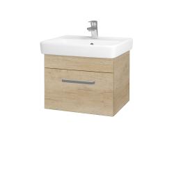 Dreja - Kúpeľňová skriňa Q UNO SZZ 55 - D15 Nebraska / Úchytka T01 / D15 Nebraska (208257A)