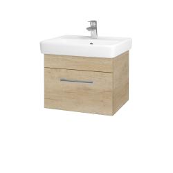 Dreja - Kúpeľňová skriňa Q UNO SZZ 55 - D15 Nebraska / Úchytka T03 / D15 Nebraska (208257C)