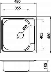 NOVASERVIS - Drez 48x48 tkaná štruktúra (DR48/48TS), fotografie 4/2