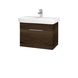 Dreja - Kúpeľňová skriňa SOLO SZZ 60 - D21 TOBACCO / Úchytka T05 / D21 Tobacco (279011F)
