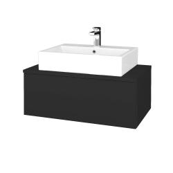 Dreja - Kúpeľňová skrinka MODULE SZZ1 80 - N03 Graphite / N03 Graphite (311667)