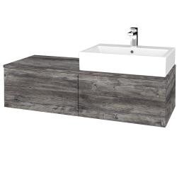 Dreja - Kúpeľňová skrinka MODULE SZZ12 120 - D10 Borovice Jackson / D10 Borovice Jackson / Levé (314866)