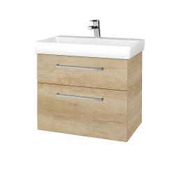 Dreja - Kúpeľňová skrinka PROJECT SZZ2 70 - D15 Nebraska / Úchytka T04 / D15 Nebraska (322939E)