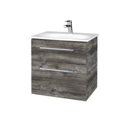 Dreja - Kúpeľňová skrinka PROJECT SZZ2 60 - D10 Borovice Jackson / Úchytka T04 / D10 Borovice Jackson (328276E)
