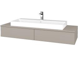 Dreja - Kúpeľňová skrinka MODULE SZZ2 140 - N07 Stone / N07 Stone (337315)