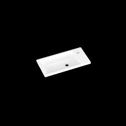 Umývadlo DREJA ZOOM 50 keramické - BIELE (003036)