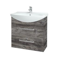 Dreja - Kúpeľňová skriňa TAKE IT SZZ2 75 - D10 Borovice Jackson / Úchytka T01 / D10 Borovice Jackson (207601A)