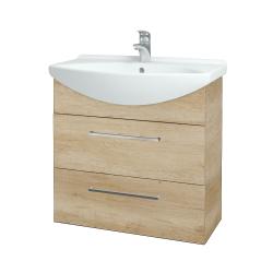 Dreja - Kúpeľňová skriňa TAKE IT SZZ2 75 - D15 Nebraska / Úchytka T04 / D15 Nebraska (207618E)