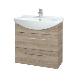 Dreja - Kúpeľňová skriňa TAKE IT SZZ2 75 - D17 Colorado / Úchytka T04 / D17 Colorado (207632E)