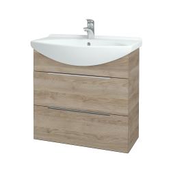 Dreja - Kúpeľňová skriňa TAKE IT SZZ2 75 - D17 Colorado / Úchytka T05 / D17 Colorado (207632F)