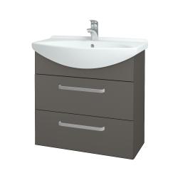 Dreja - Kúpeľňová skriňa TAKE IT SZZ2 75 - N06 Lava / Úchytka T01 / N06 Lava (207731A)