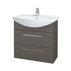 Dreja - Kúpeľňová skriňa TAKE IT SZZ2 75 - N06 Lava / Úchytka T04 / N06 Lava (207731E)