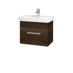 Dreja - Kúpeľňová skriňa SOLO SZZ 55 - D21 TOBACCO / Úchytka T01 / D21 Tobacco (278977A)