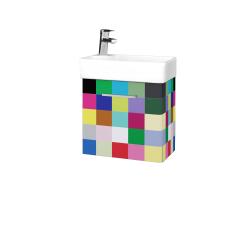 Dreja - Kúpeľňová skriňa DOOR SZD 44 - IND Individual / Úchytka T04 / IND Individual / Levé (149895E)