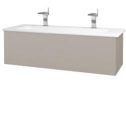 Dreja - Kúpeľňová skriňa VARIANTE SZZ 120 (umývadlo Euphoria) - N07 Stone / N07 Stone (190538U)