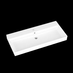 Dreja - Umývadlo MYJOYS GLANCE 100 keramické - BIELE (003081)