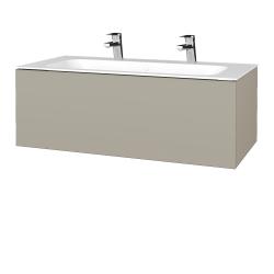 Dreja - Kúpeľňová skrinka VARIANTE SZZ 100 - M05 Béžová mat / M05 Béžová mat (269111U)