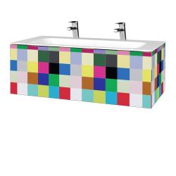 Dreja - Kúpeľňová skrinka VARIANTE SZZ 100 - IND Individual / IND Individual (269128U)