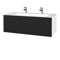 Dreja - Kúpeľňová skrinka VARIANTE SZZ 100 - N01 Bílá lesk / N08 Cosmo (269388U)