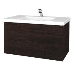 Dreja - Kúpeľňová skrinka VARIANTE SZZ2 100 - D08 Wenge / D08 Wenge (275143)