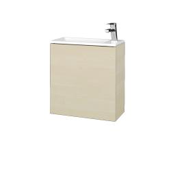 Dreja - Kúpeľňová skriňa VARIANTE SZD 50 - D02 Bříza / D02 Bříza / Pravé (339074P)