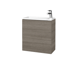 Dreja - Kúpeľňová skriňa VARIANTE SZD 50 - D03 Cafe / D03 Cafe / Pravé (339081P)