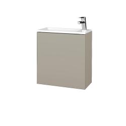 Dreja - Kúpeľňová skriňa VARIANTE SZD 50 - M05 Béžová mat / M05 Béžová mat / Pravé (339197P)