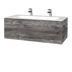 Dreja - Kúpeľňová skrinka VARIANTE SZZ 100 - D10 Borovice Jackson / D10 Borovice Jackson (269067U)