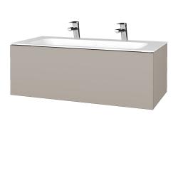 Dreja - Kúpeľňová skrinka VARIANTE SZZ 100 - N07 Stone / N07 Stone (269173U)