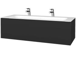 Dreja - Kúpeľňová skriňa VARIANTE SZZ 120 - N03 Graphite / N03 Graphite (270094U)