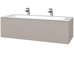 Dreja - Kúpeľňová skriňa VARIANTE SZZ 120 - N07 Stone / N07 Stone (270117U)