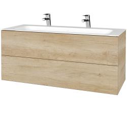 Dreja - Kúpeľňová skrinka VARIANTE SZZ2 120 - D15 Nebraska / D15 Nebraska (270483U)