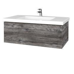 Dreja - Kúpeľňová skrinka VARIANTE SZZ 100 - D10 Borovice Jackson / D10 Borovice Jackson (274696)