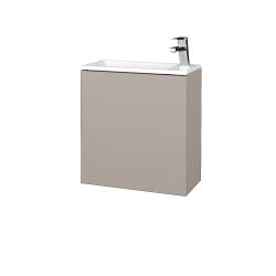 Dreja - Kúpeľňová skriňa VARIANTE SZD 50 - N07 Stone / N07 Stone / Pravé (339258P)