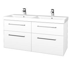 Dreja - Kúpeľňová skriňa Q MAX SZZ4 120 - M01 Bílá mat / Úchytka T04 / M01 Bílá mat (332266E)