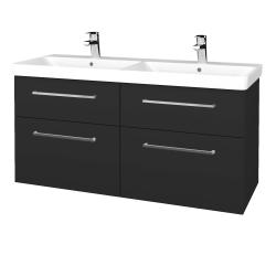 Dreja - Kúpeľňová skriňa Q MAX SZZ4 120 - N03 Graphite / Úchytka T04 / N03 Graphite (332310E)