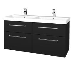 Dreja - Kúpeľňová skriňa Q MAX SZZ4 120 - N08 Cosmo / Úchytka T04 / N08 Cosmo (332341E)