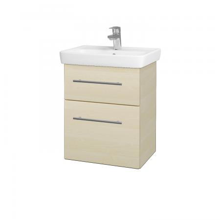 Dreja - Kúpeľňová skriňa GO SZZ2 50 - D02 Bříza / Úchytka T02 / D02 Bříza (28155B)